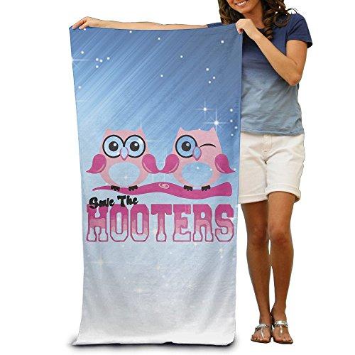ShanxianP Save The Hooters Soft Fast Drying Beach Towel Pool Towel (Lowrider Womens Socks)