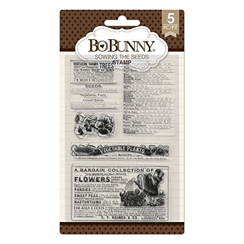 Bo BunnyClear Stamp Set -Cottontail Sowing Seeds ()
