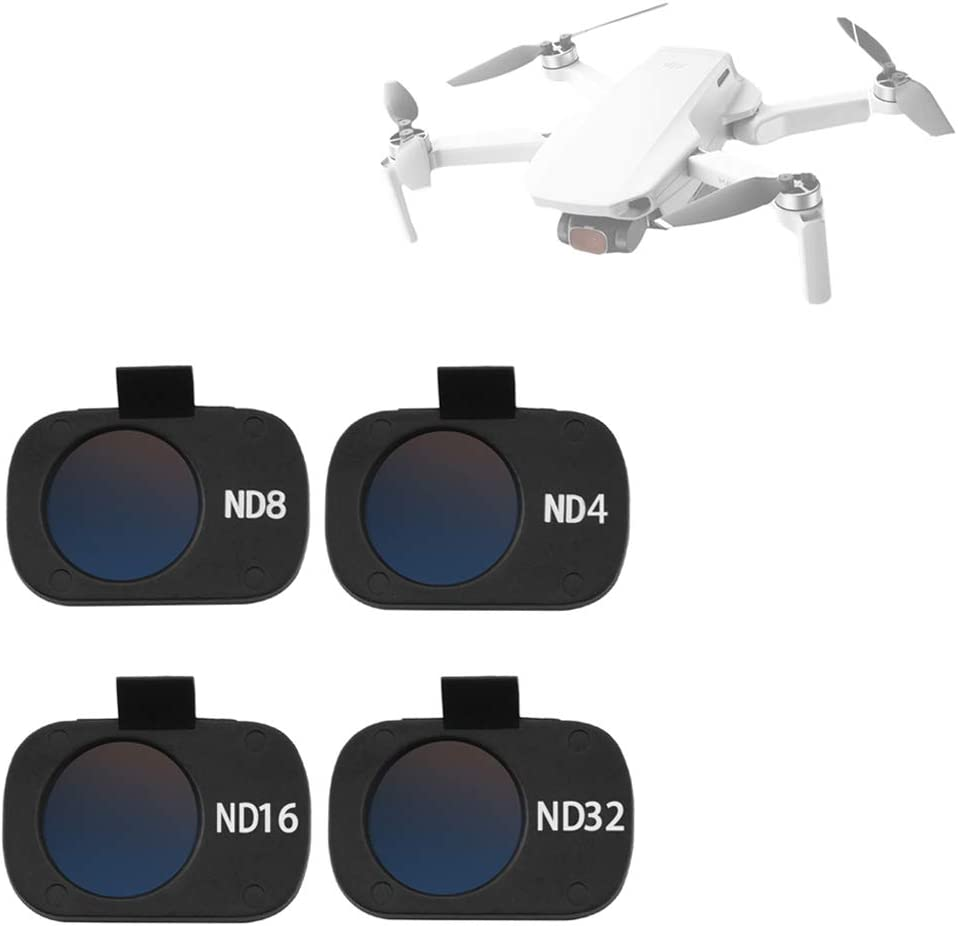 4Pcs ND4 ND8 ND16 ND32 Camera Lens Filters for DJI Mavic Mini Drone FenglinTech Filters Set