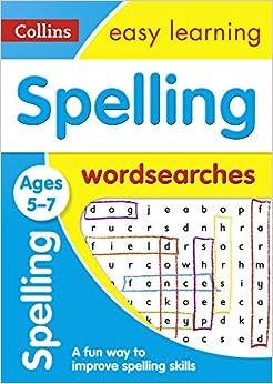 Descarga gratuita Spelling Word Searches Ages 5-7 Epub