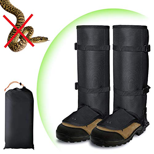 9063d8209b05 Snake Gaiters Guards for Women Men Legs, AYAMAYA Waterproof Snake Proof  Bite Protection Legging Shield Lightweight Breathable Snake Gators Anti  Dust ...