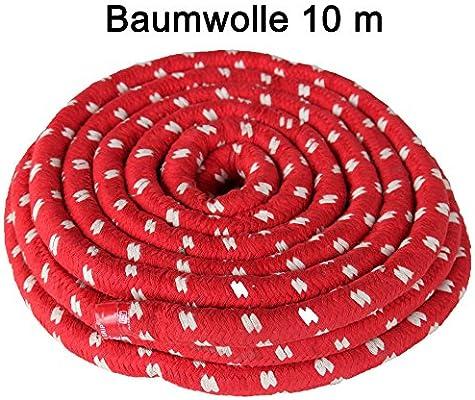Boje Sport Cuerda/SOGA de Tiro de algodón -10 Metros x 22 mm: Amazon.es: Deportes y aire libre