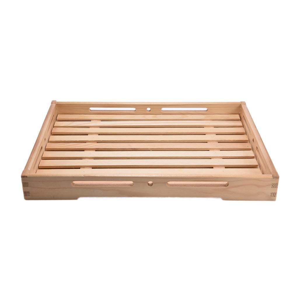 Yves25Tate holztablett in legno, piatto da portata, hoelzernes vassoio, piatto da portata pane piatto frutta quadrato Vassoio, 38* 28* 4,5cm