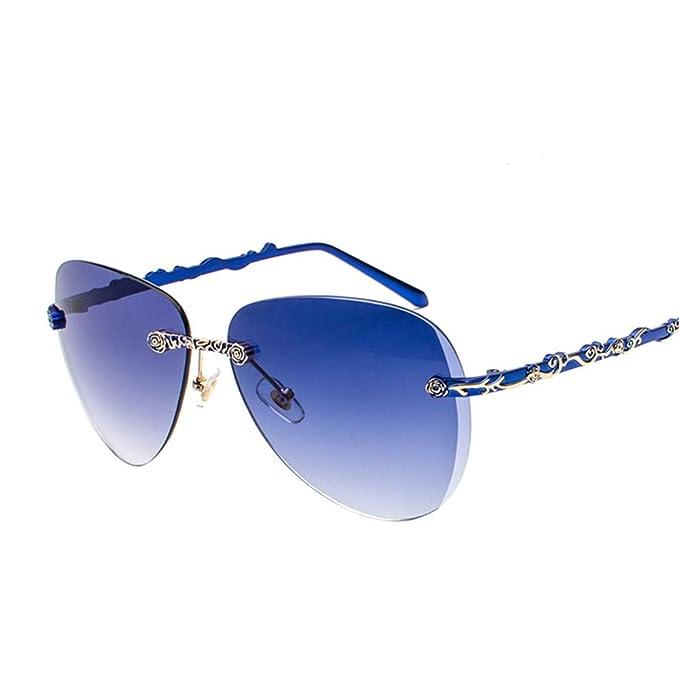 SenDi Gafas de sol - Gafas de sol sin montura nuevas para ...