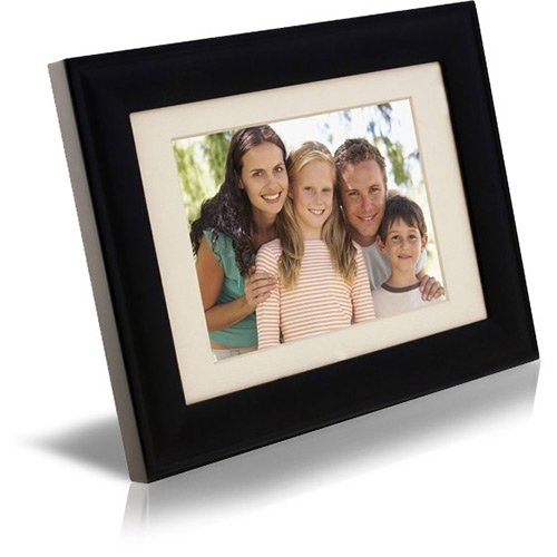 Pandigital PAN5000W02 5-Inch Digital Picture Frame (Black) by Pandigital