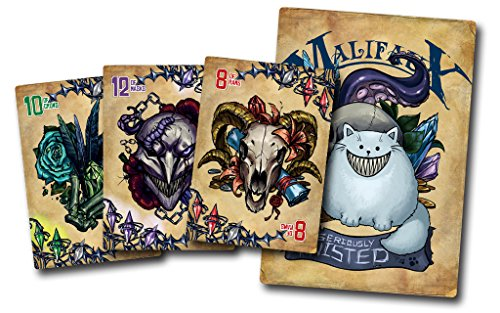 Malifaux 2nd edition Twisted Fate Deck