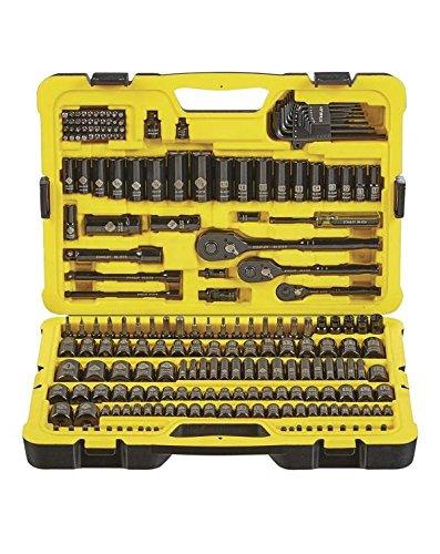 Stanley Professional Grade Black Chrome Socket Set with 229 -