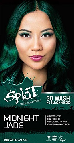 Amazon Splat 30 Wash No Bleach Formula Midnight Jade Beauty