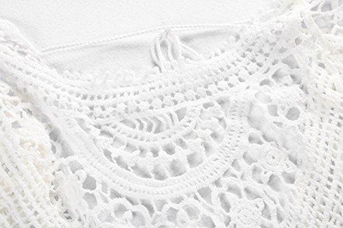 Jeasona Women S Bathing Suit Cover Up Crochet Lace Bikini Import