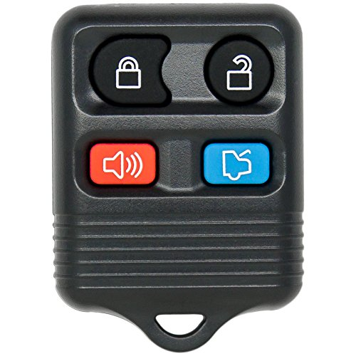 Keyless2Go R-FD-4.go Entry Remote Car Key Fob Replacement for Vehicles That Use Self-Programming ()