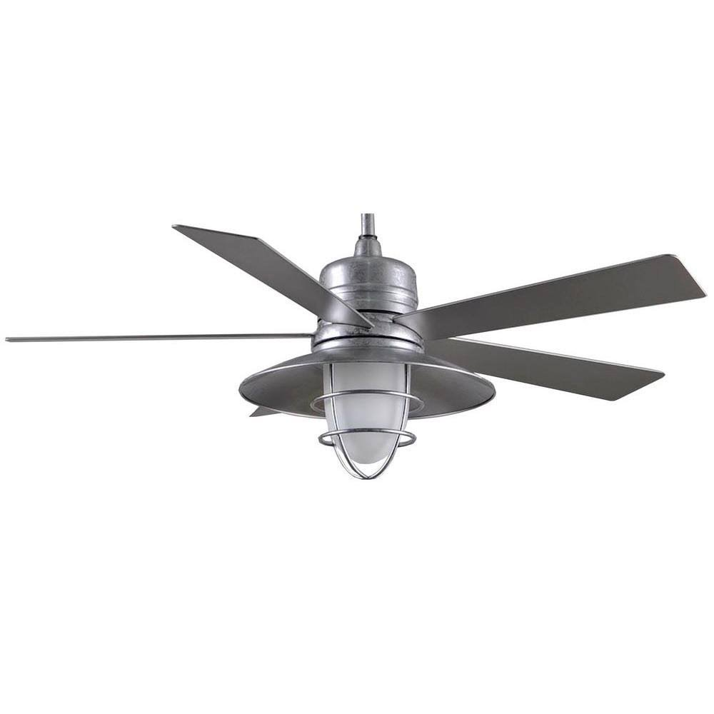 Grayton 54 in. Indoor/Outdoor Galvanized Ceiling Fan by Home Decorators Collection