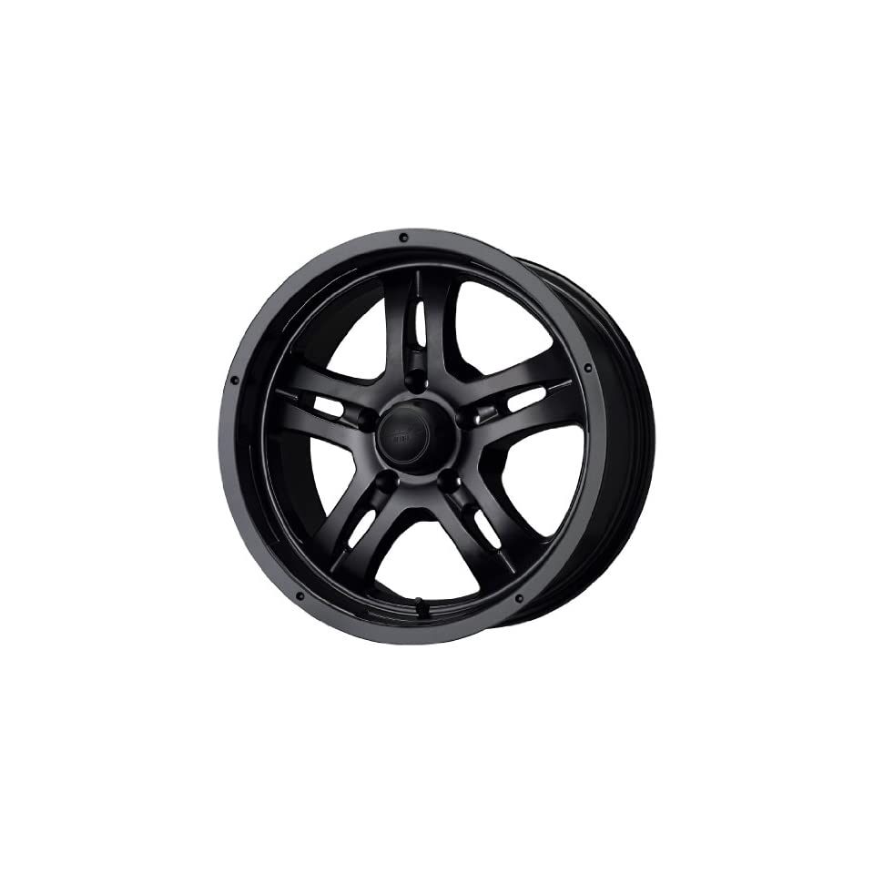 MB Wheels Gunner 5 Matte Black Wheel (17x8/5x127mm)