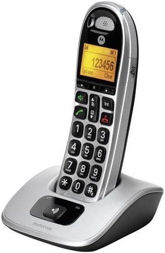 Motorola MOT31CD301 - Teléfono Fijo inalámbrico: Amazon.es: Electrónica