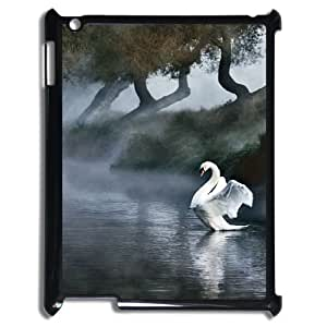 White swan Hard Shell Phone Case Cover For For iPad Case 2,3,4 color1