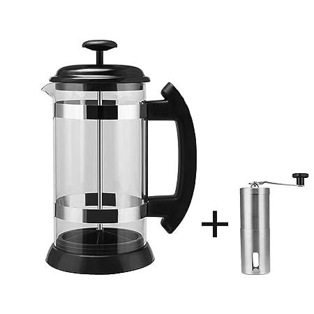 Hokaime Método de Olla de café de 1000 ml Olla de presión ...