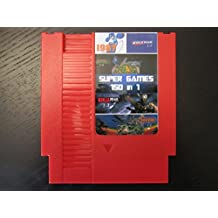 150 Games in 1 Nintendo NES Game Cartridge - Mario Bros, Megaman, Kirby, Castlevania, Double Dragon, Excitebike, TMNT and More!