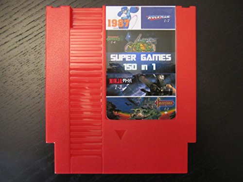 Super Games 150 in 1 - Mario, Kirby, - Megaman For Super Nintendo