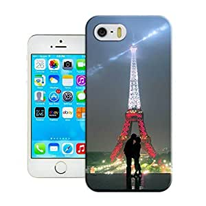 LarryToliver Customizable Cute Custom Hard Plastic Back Case Cover for Eiffel Tower iphone 5/5s