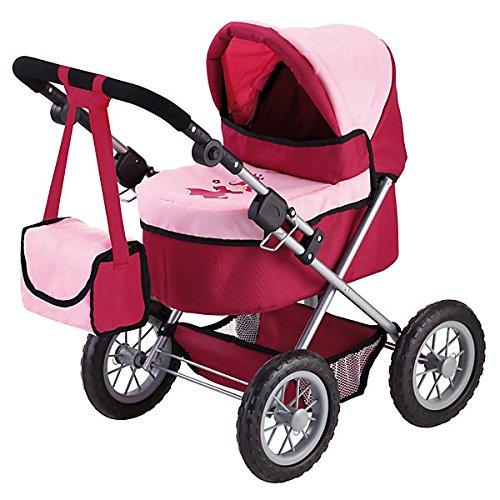 Bayer Design Cochecito de muñeca, Trendy Color rojo, rosa 13014 product image