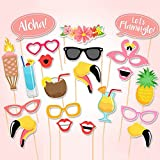 21er Set Summer Party Sommerfest Fotorequisiten Booth Props von SUNBEAUTY
