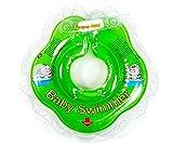 Original BabySwimmer in klein Grün, Badekragen Hals Schwimmring Schwimmhilfe