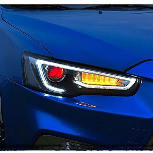 Vland For Mitsubishi Lancer Evo X Projector Headlights