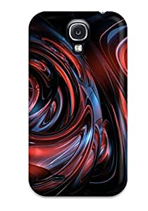 Durable Defender Case For Galaxy S4 Tpu Cover(abstract)
