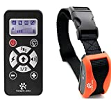 Hot Spot Dog Training Collar Long Range Shock Collar (800 Yards) w/ 4 Training Modes & 7 Simulation Levels LCD Remote Waterproof & Rechargeable