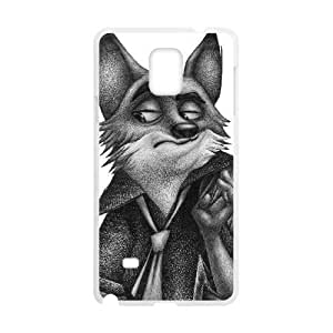 SamSung Galaxy Note4 cell phone cases White Zootopia fashion phone cases UIWE601901