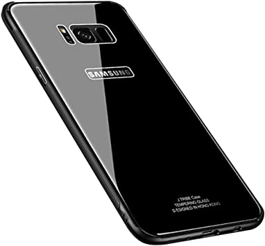 Samsung Galaxy S8 Tempered Glass Case, [Drop Protection ...