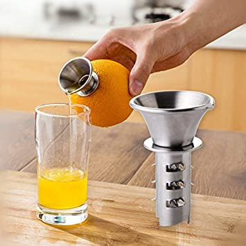 amazzang-manual mano exprimidor de limón exprimidor ZUMO DE FRUTAS verde exprimidor cocina Gadget: Amazon.es: Hogar