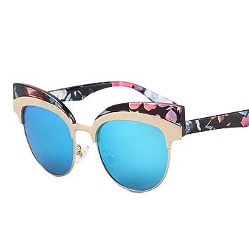 GUO Las Gafas de Sol de Color Reflectante Film Tendencia ...