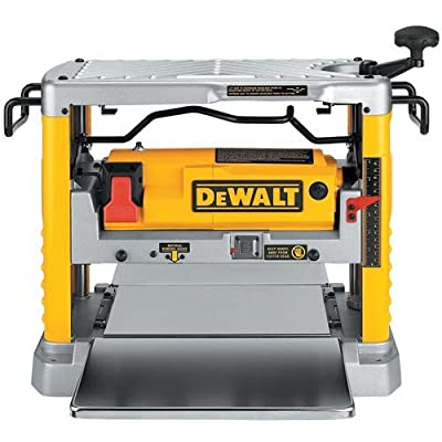 Factory-Reconditioned DEWALT DW734R Heavy Duty 12-1/2-Inch Thickness Planer with 3-Knife Cutter Head