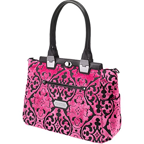 Cake by Petunia Cafe Carryall Diaper Bag in Dragon Fruit, Pink
