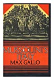 img - for Mussolini's Italy: Twenty Years of the Fascist Era. book / textbook / text book