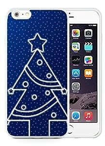 2014 Newest iPhone 6 Plus Case,Christmas tree White iPhone 6 Plus 5.5 TPU Case 17