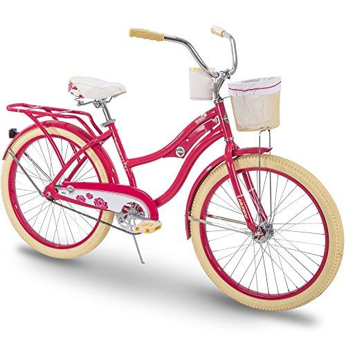 - Huffy Cruiser Bike Womens, Holbrook 24 inch, Lavender & Red