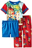 AME Sleepwear Little Boys' Jake The Pirate, Red, 4/Toddler