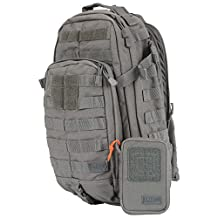 5.11 Tactical Series RUSH MOAB 10 Backpack with Tactical Organizer, Storm