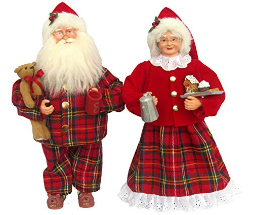 Santa's Workshop Pajama Clauses Figurine, 15