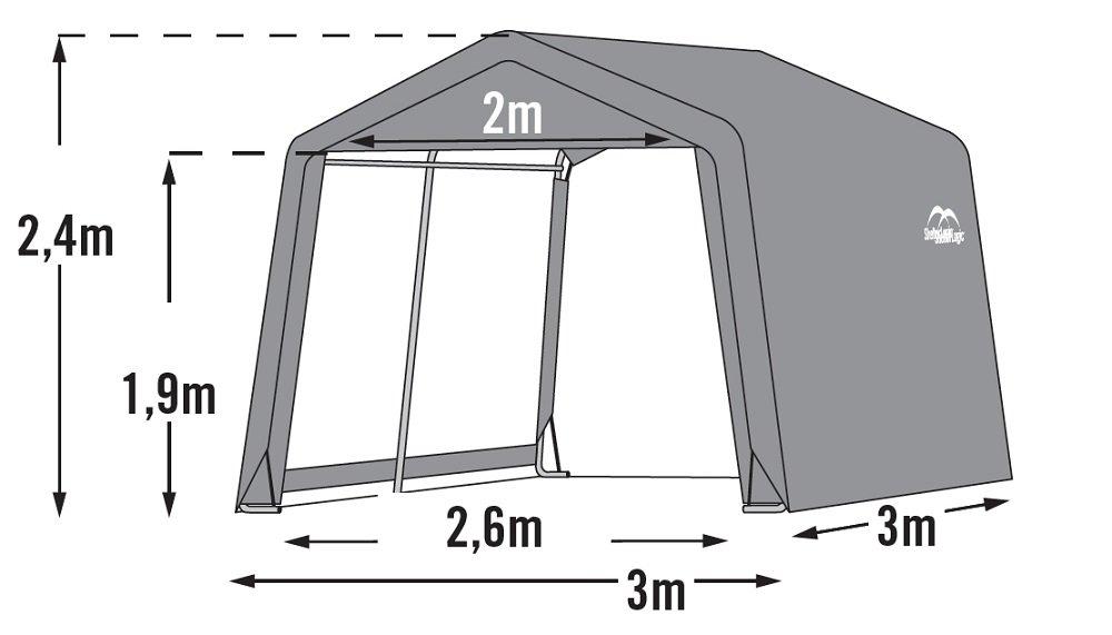 Shed in a Box Caseta de acero con toalla Triple capa de cubierta de polietileno extra resistente impermeable: Amazon.es: Jardín