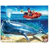 Playmobil 4489 - Lancha de investigación y ballena