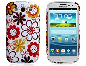 Get TPU Floral Protective Case for Samsung Galaxy S3/i9300