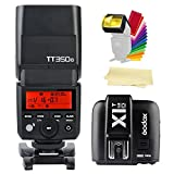Godox TT350-O 2.4G TTL GN36 1/8000s High-Speed Sync Camera Flash Speedlite + X1T-O Wireless Flash Trigger Transmitter for Olympus Panasonic Cameras