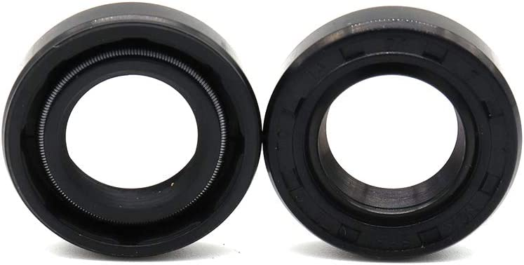 2 Pcs Crankcase Gear Shifter Shaft Oil Seal For TRX450 foreman Foreman 400 Foreman 450 Foreman 500 FourTrax Foreman 400 Rancher 350 Rancher 420 Replace OEM Part 91202-444-023