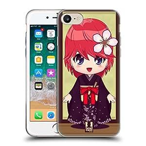 Head Case Designs Kame Kimono Girls Soft Gel Case for Apple iPhone 7 Plus / iPhone 8 Plus