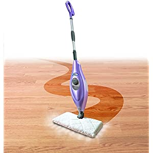 Shark Steam Pocket Mop Hard Floor Cleaner with Swivel Steering XL Water Tank and 25-Foot Power Cord (S3501)