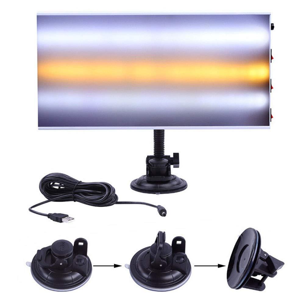 kit di lampade a LED in alluminio con base a ventosa e cavo USB kit per la rimozione di ammaccature senza vernice Strumento luce a LED per la riparazione di ammaccature dell/'auto