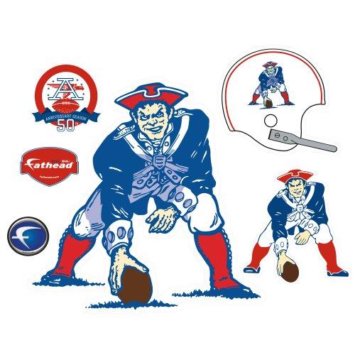 AFL Boston Patriots Original Logo Vinyl Wall Graphic Decal Sticker