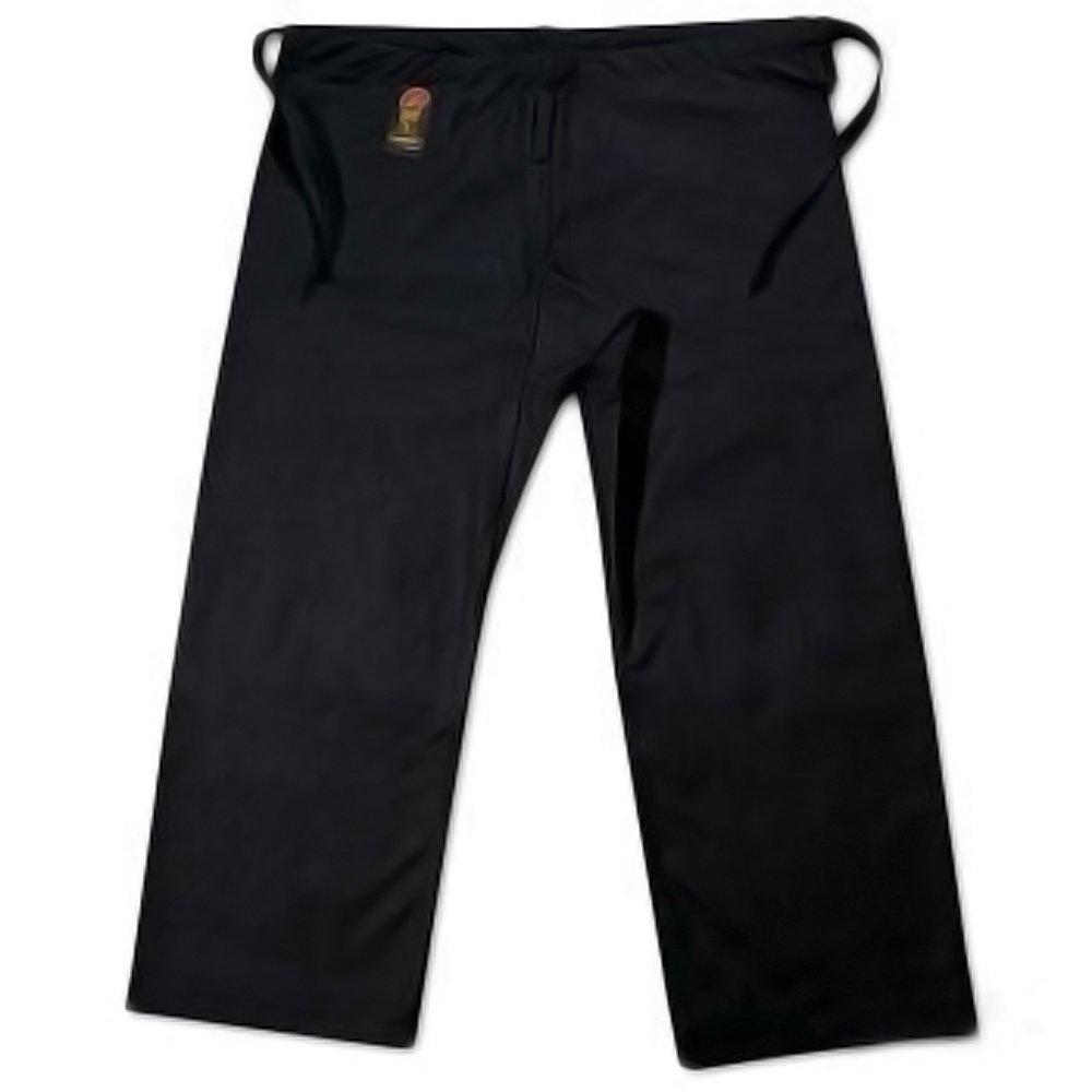 ProForce Gladiator 12oz Karate Pants w/Traditional Waist - Black - Size 7 by Pro Force